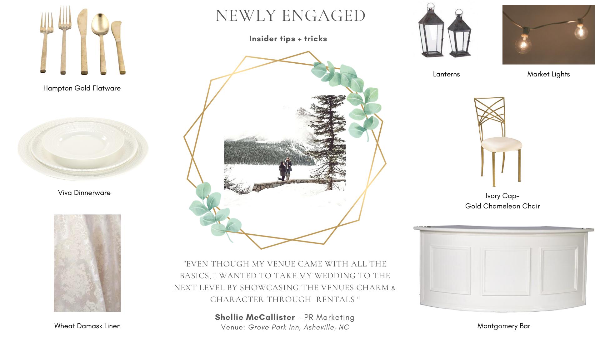Wedding Rentals - Engaged
