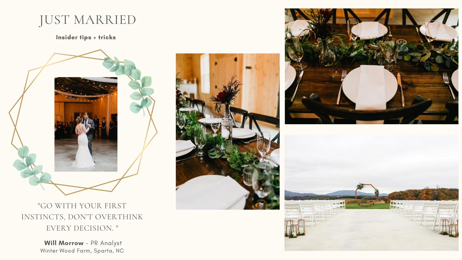 Wedding Rentals - Just Married