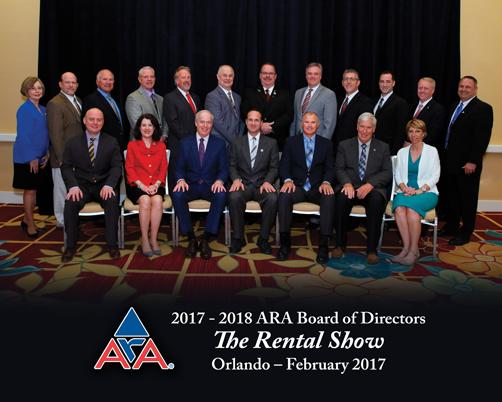 2017- 2018 ARA Board of Directors