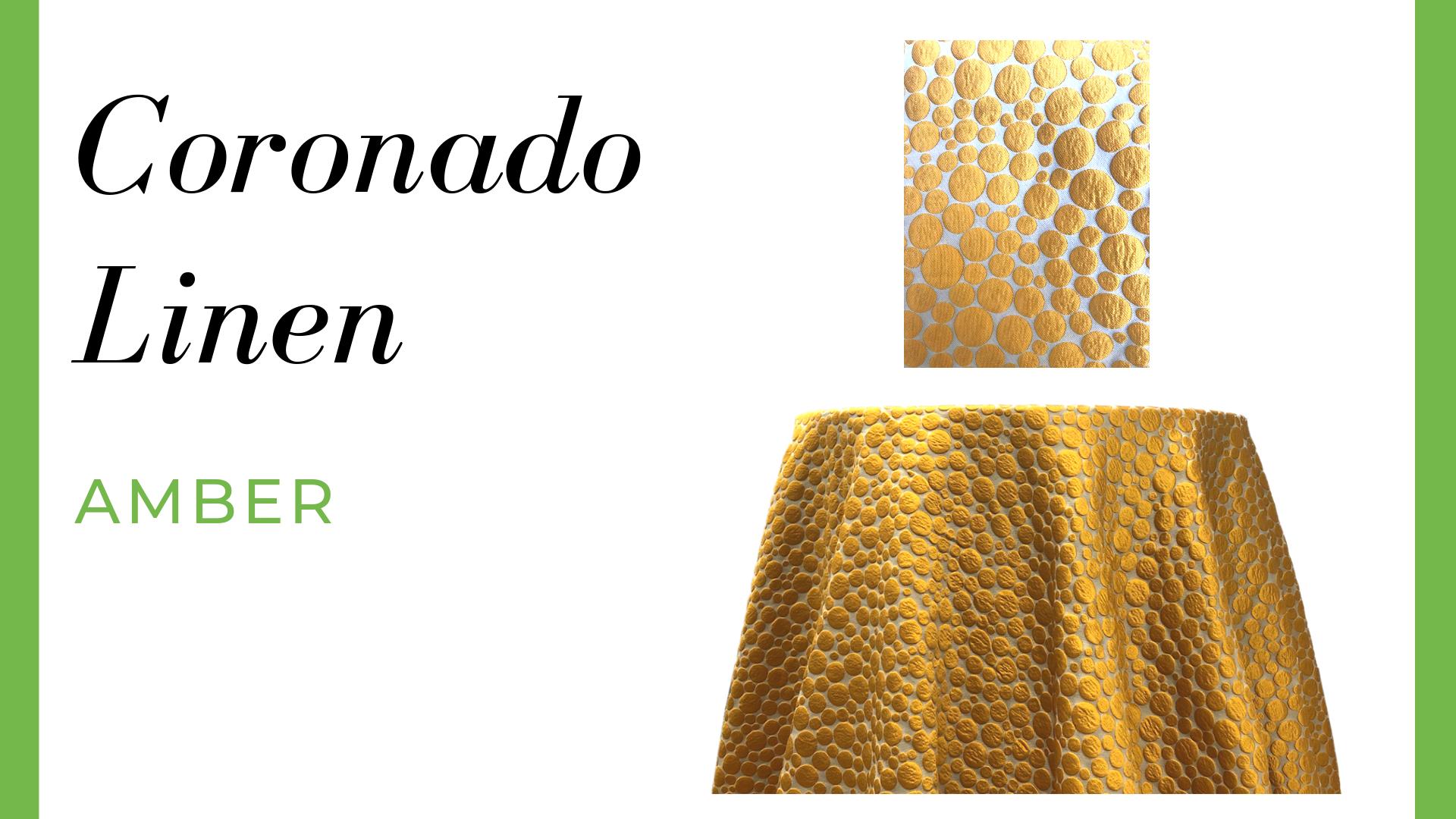 Coronado Linen - Amber