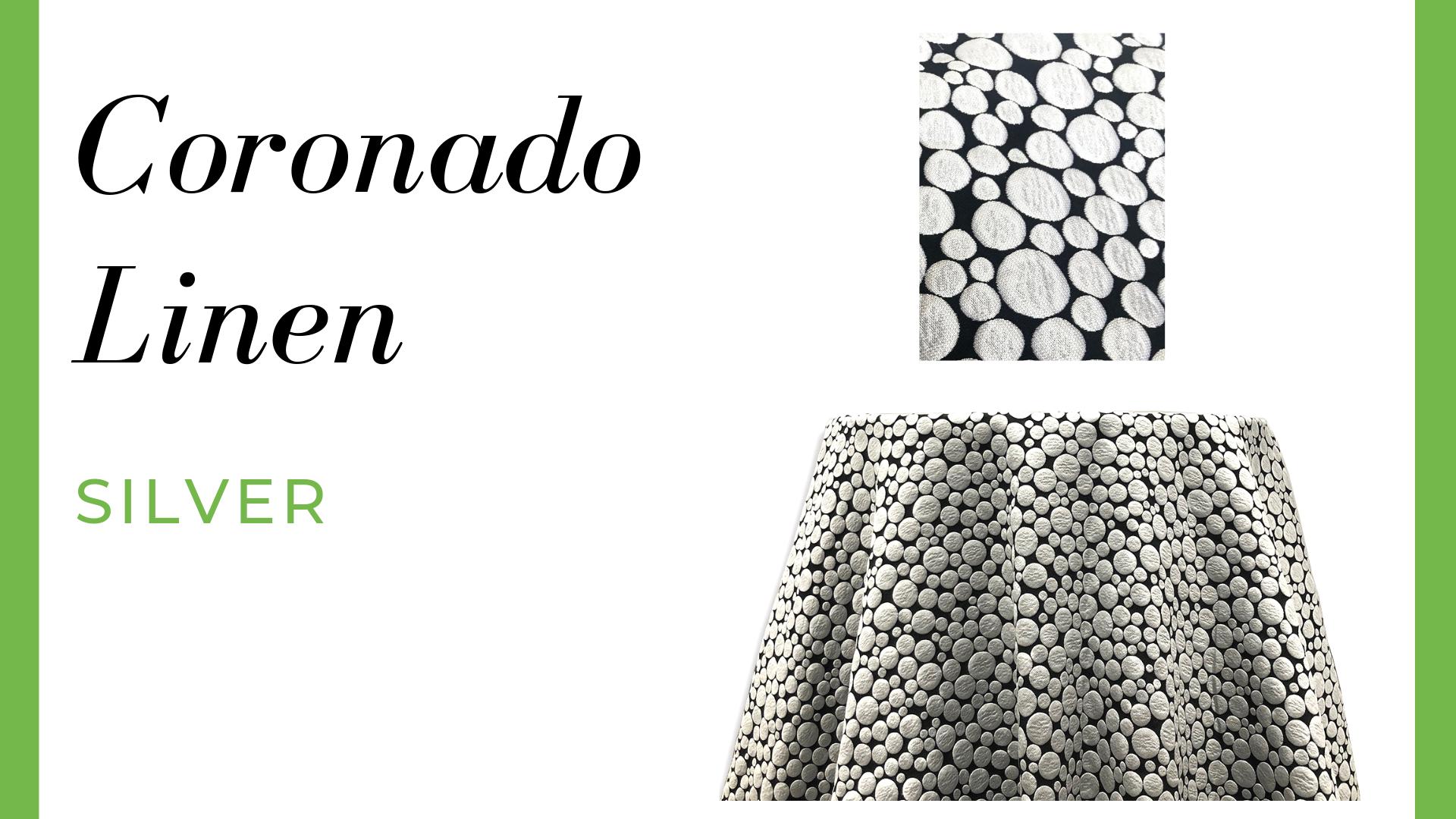 Linen Coronado Linen – Silver