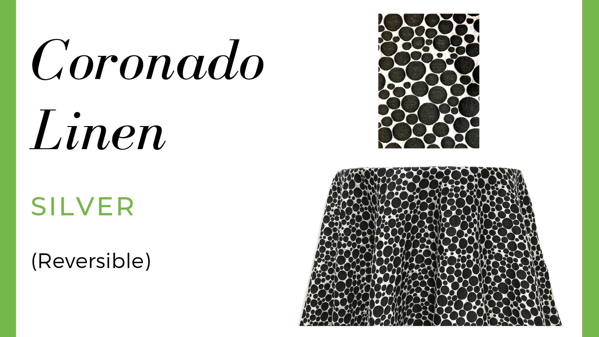 Coronado Linen - Silver
