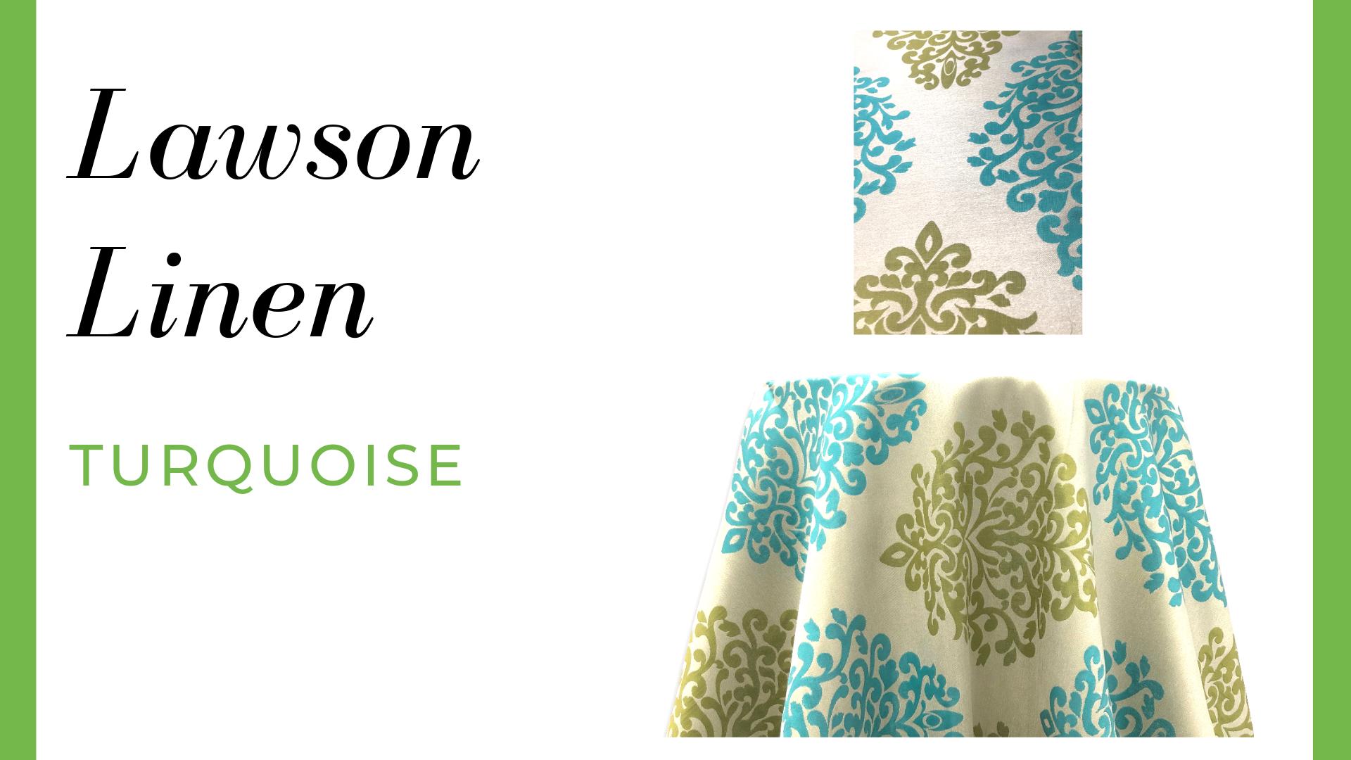 Lawson Linen - Turquoise