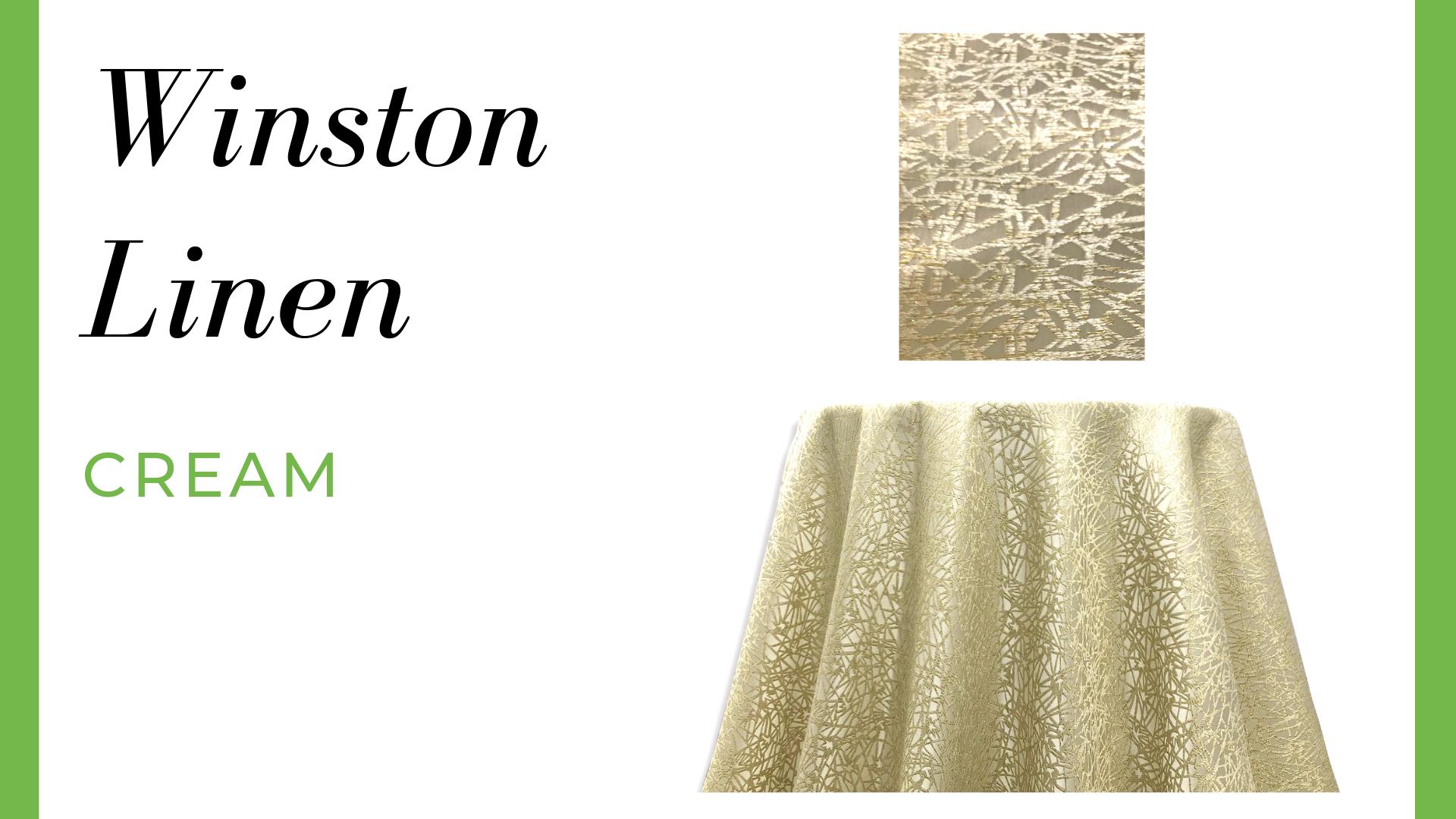 Winston Linen - Cream