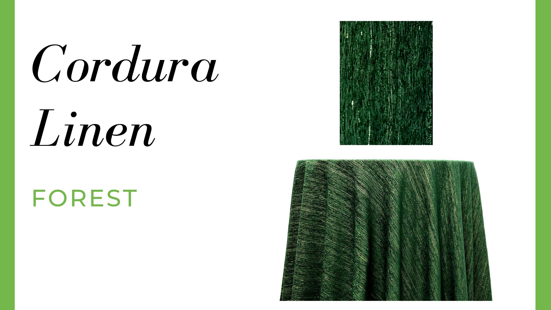 Cordura Linen - Forest