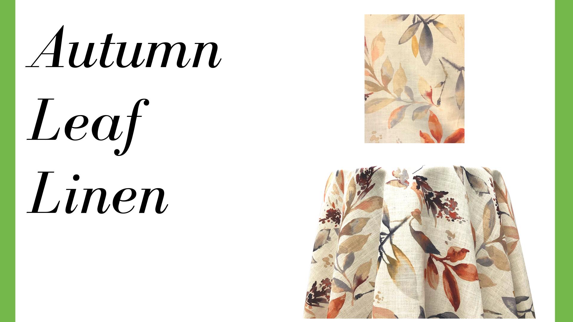 Autumn Leaf Linen