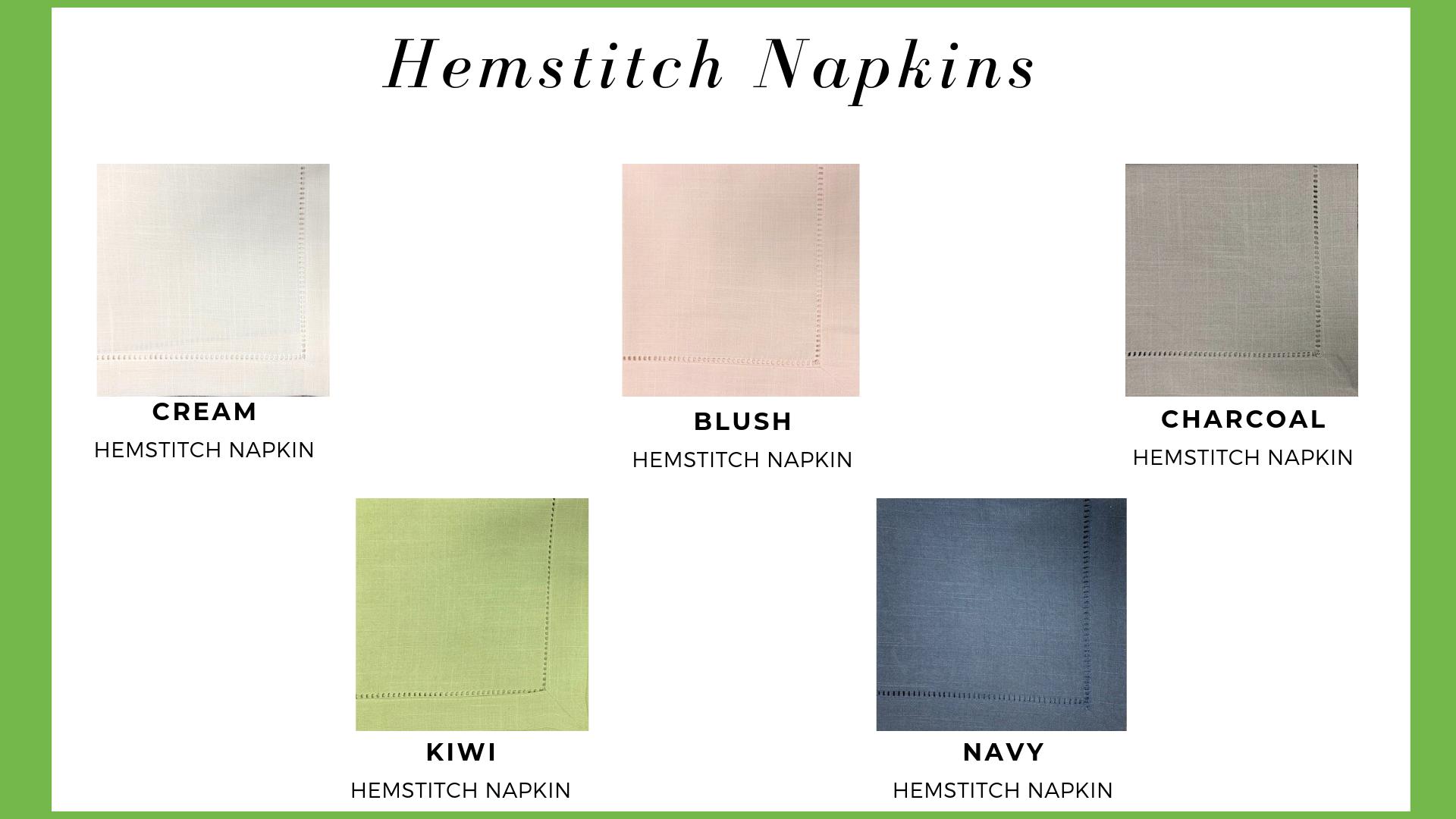 Hemstitch Napkins
