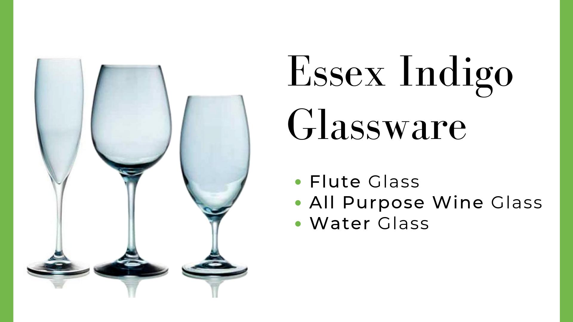Essex Indigo Glassware