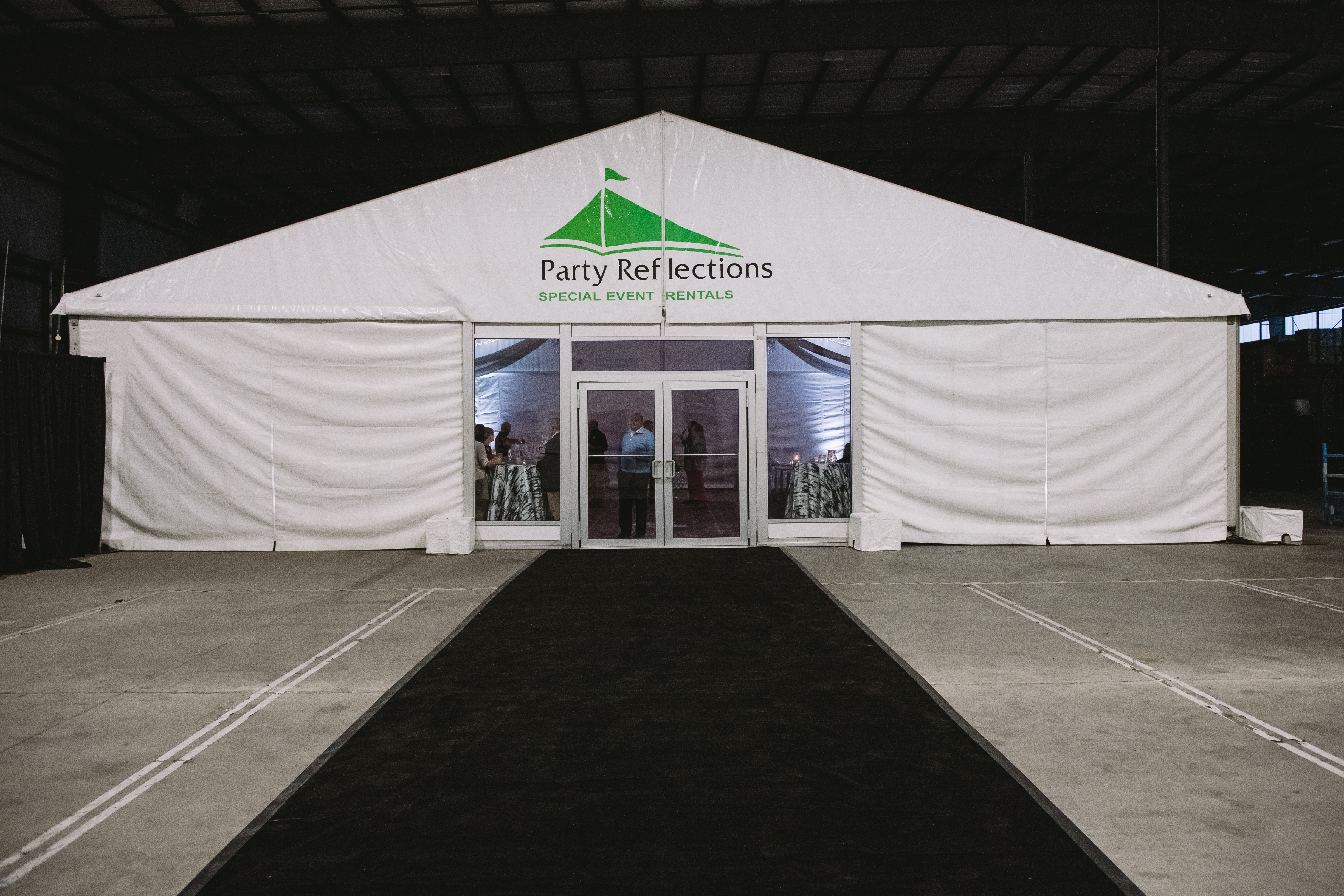 50X50 Structure Tent