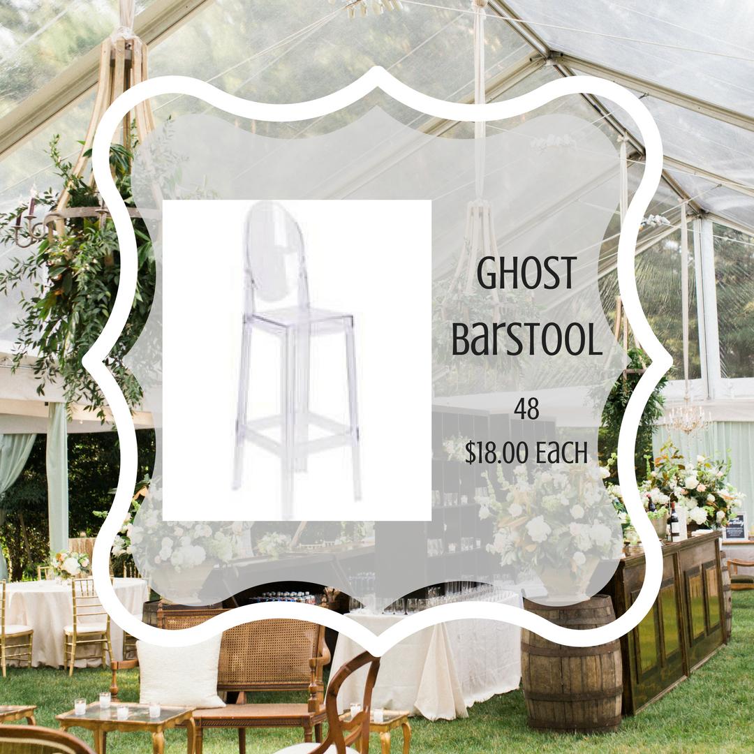Ghost Barstool