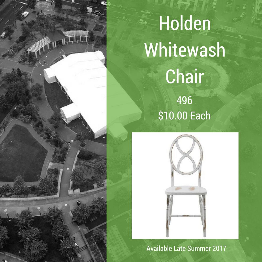 Holden Whitewash Chair