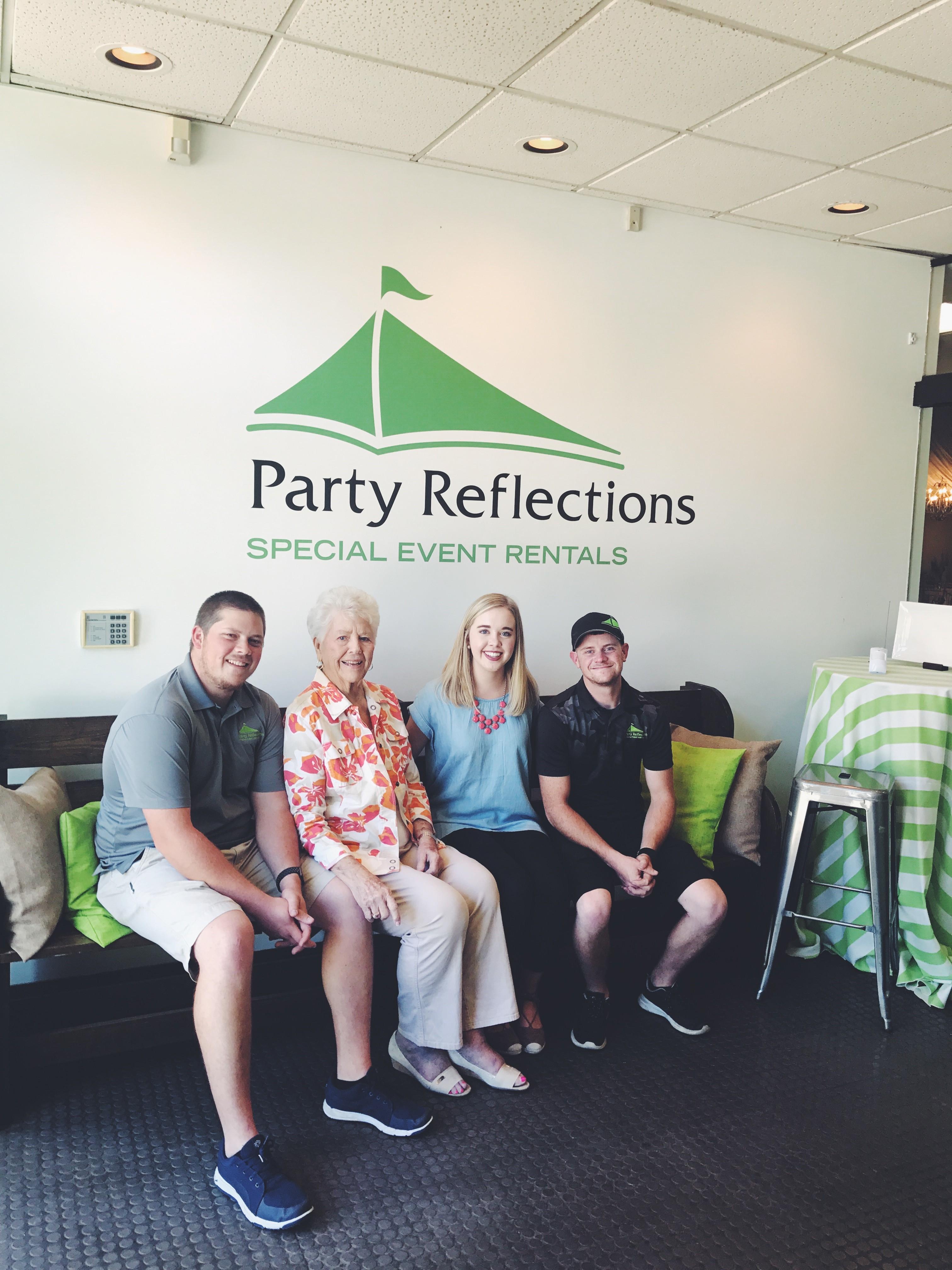 Sue Hooks and Grandchildren
