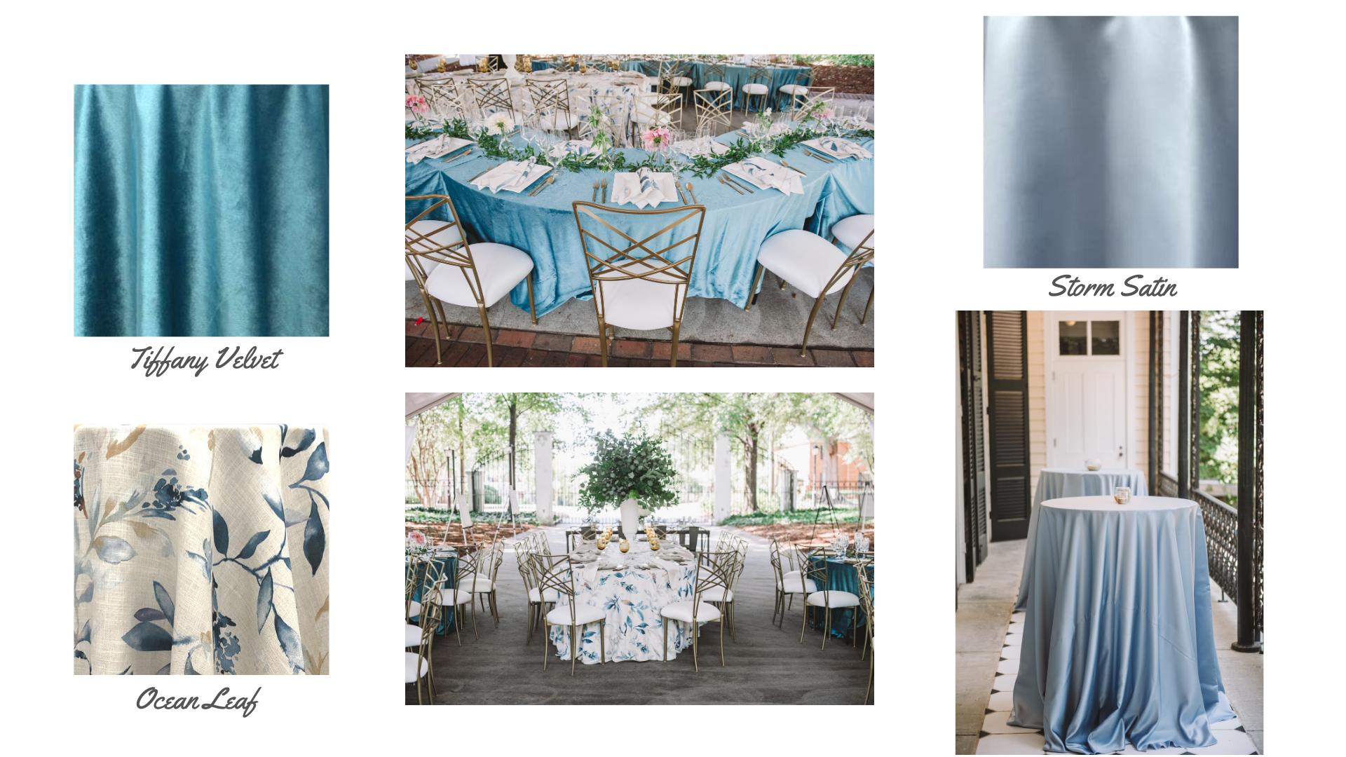 Blue Tablescapes