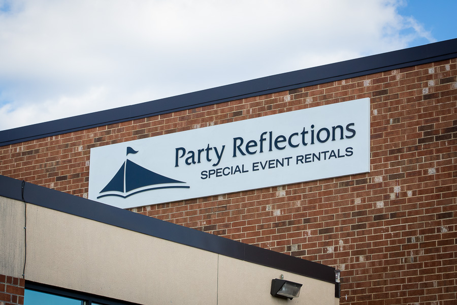 Party Reflections Raleigh New Building