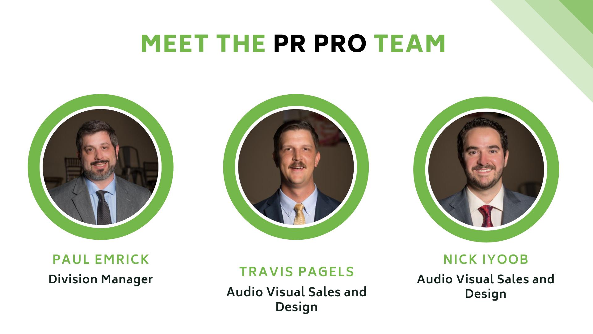 Meet the Team - PR PRO