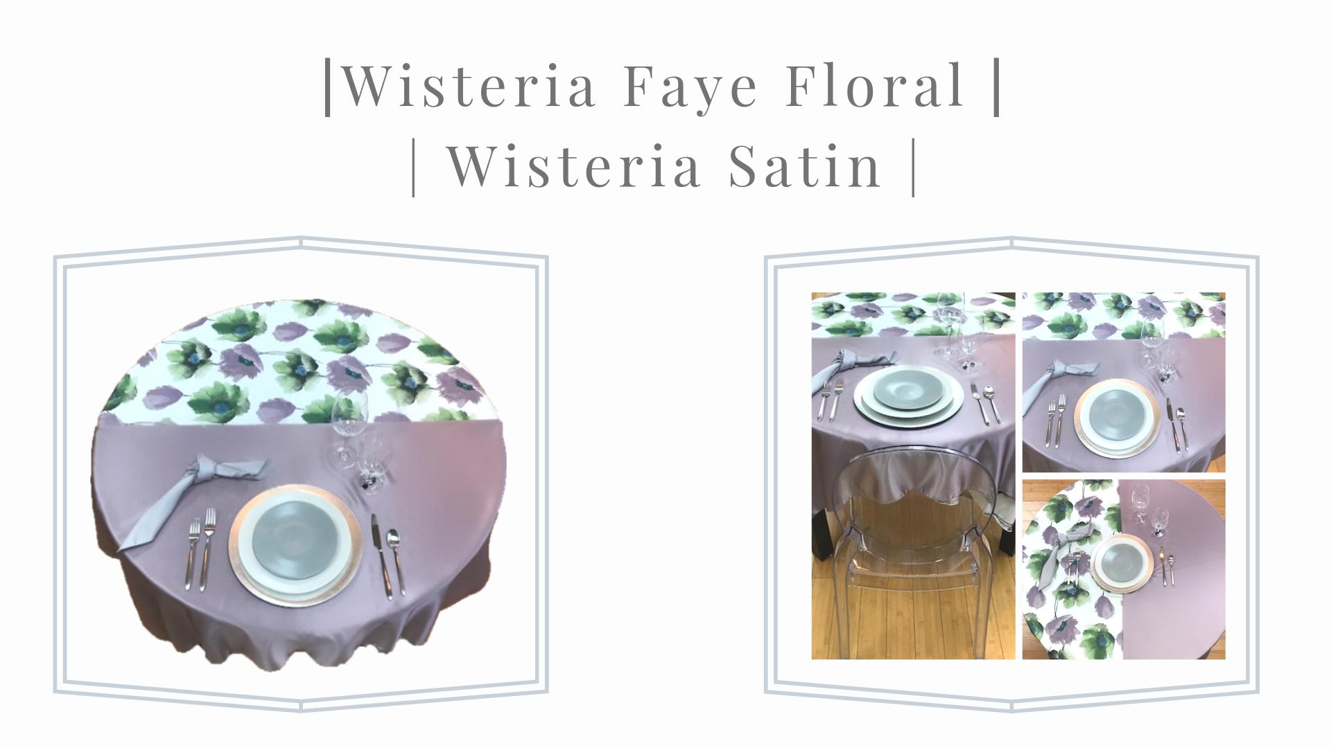Wisteria Faye Floral
