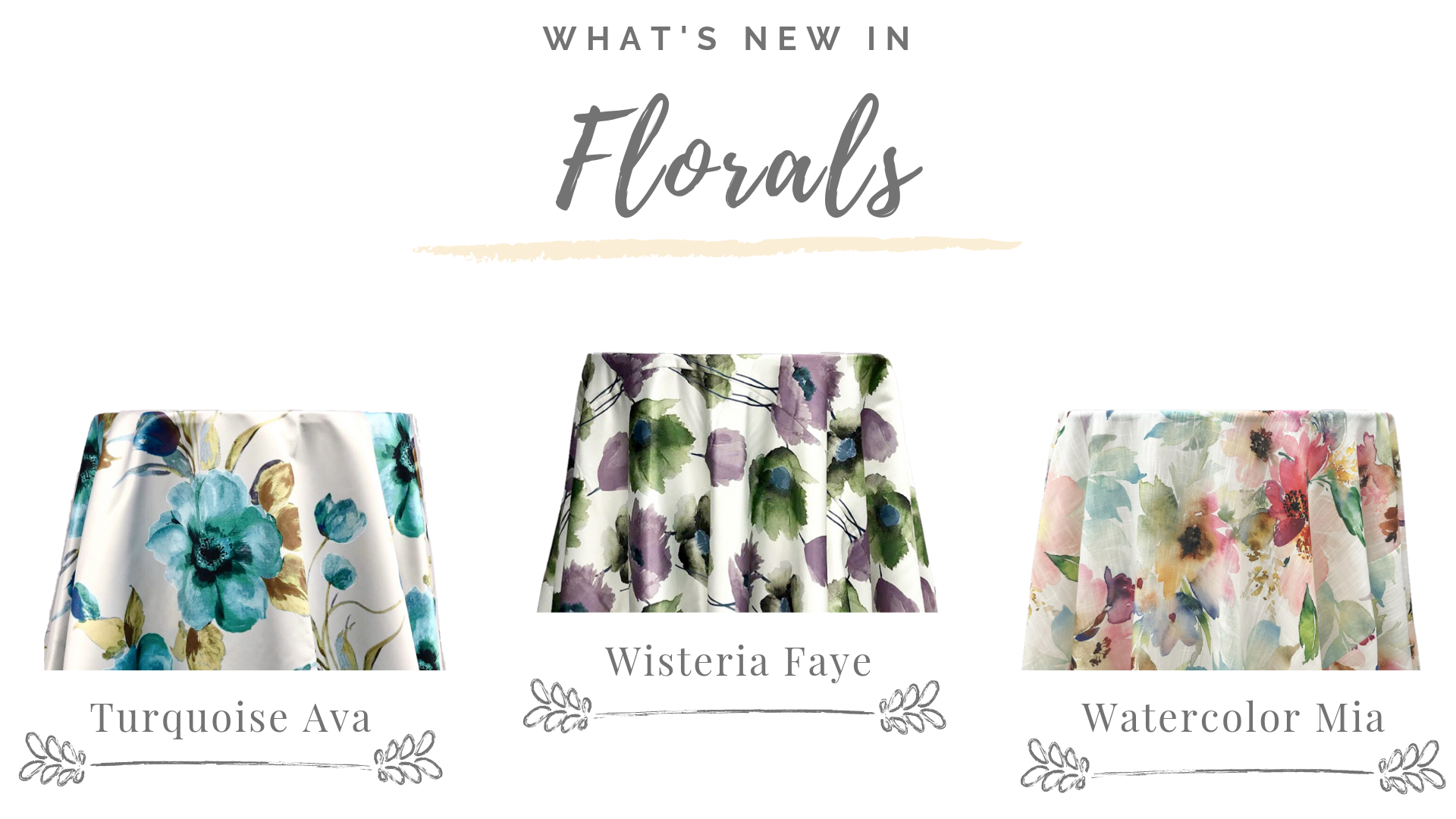 What's New In Florals