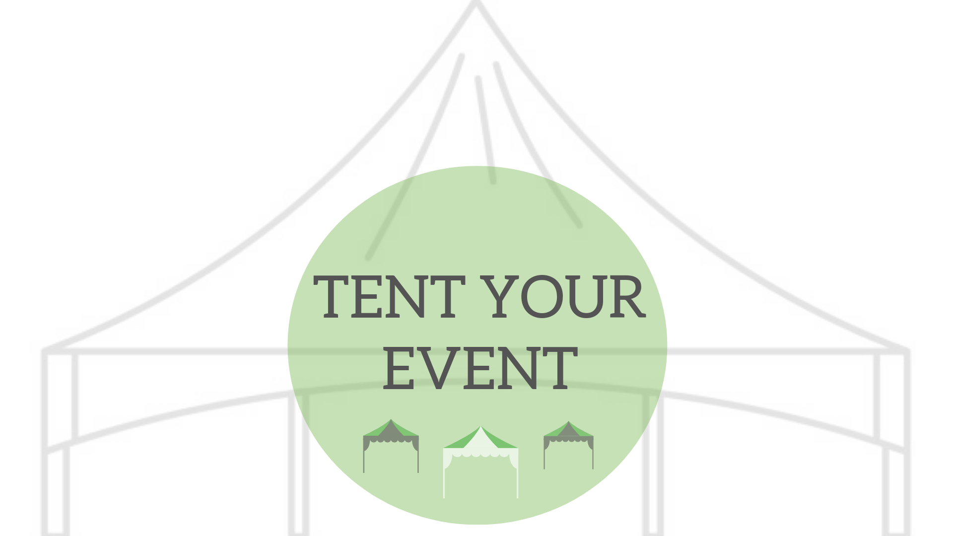 Tent Your Event