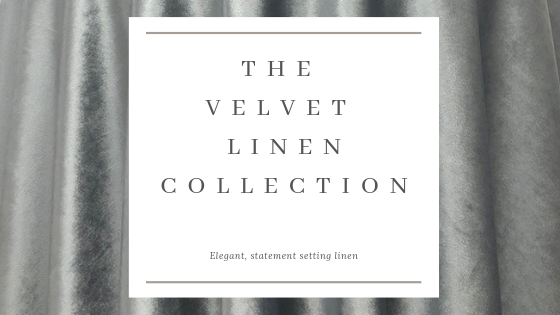 Party Reflections Velvet Linen Now Available!