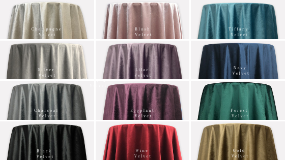 Velvet Linen Collection Now Available at Party Reflections!